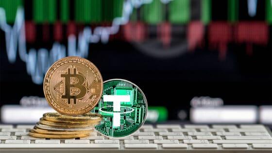 70% de las transacciones de bitcoin se ejecutan utilizando a Tether como par